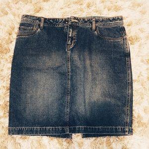 HURLEY denim skirt